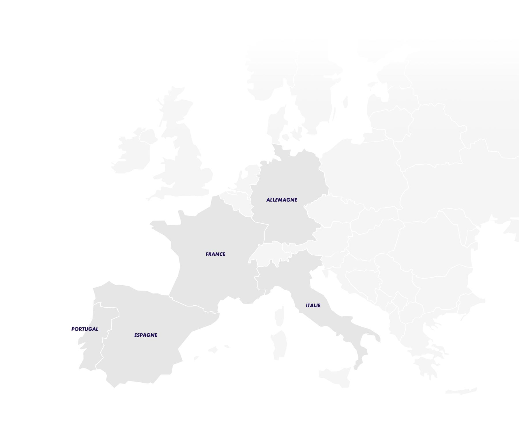 SPR - 48 sites en Europe